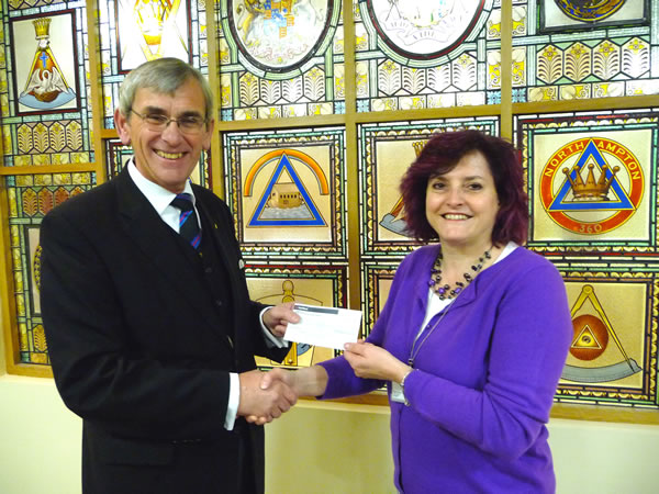 WBro Gerry Crawford with Joanna Steer