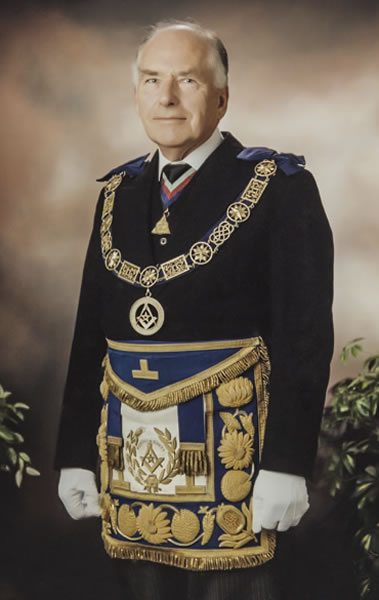 The late RW Bro Richard Sandbach PPGM