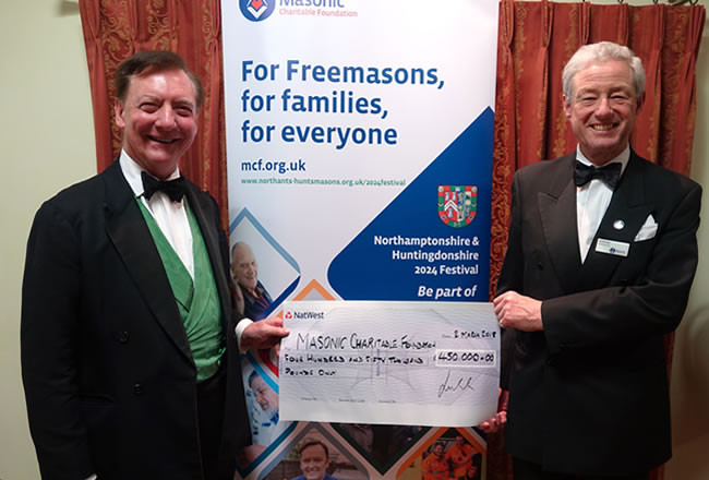 VWBro His Honour Judge Richard Hone QC, MCF President & David Innes, MCF CEO