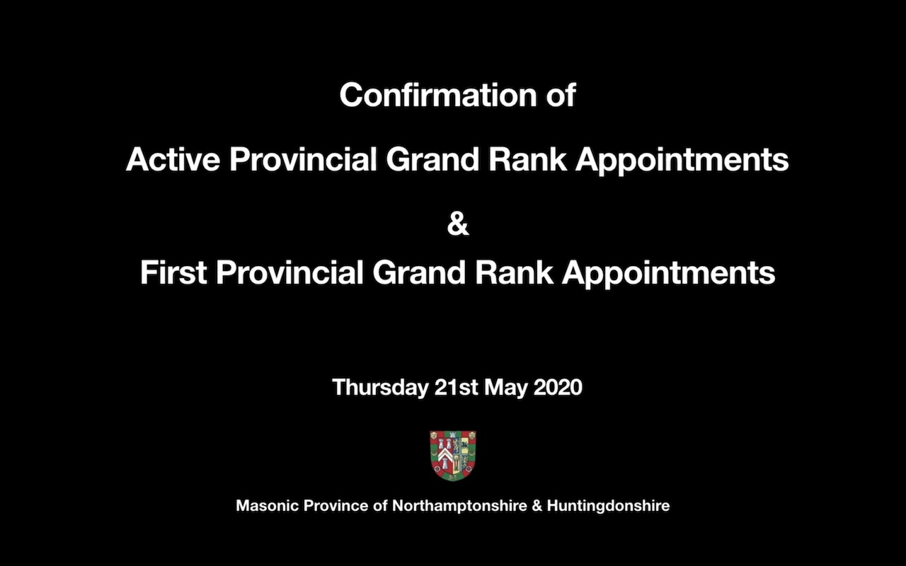 20 05 21 confirmation appointments promotions