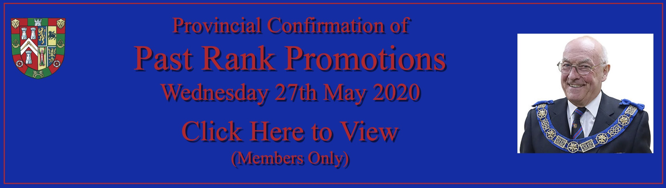 Past Rank Promotions Banner